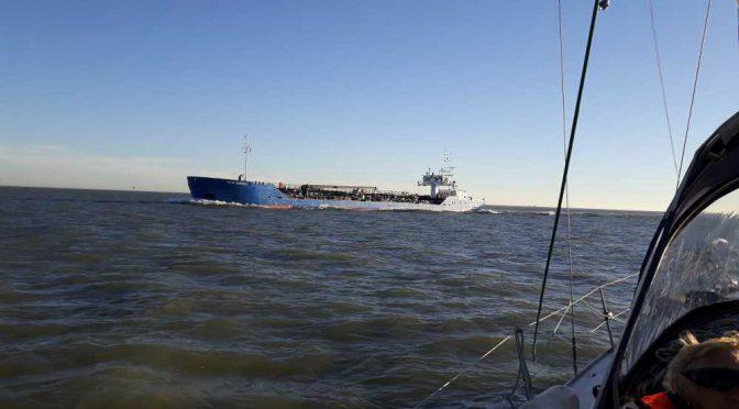 Von Zeebrugge nach Scheveningen