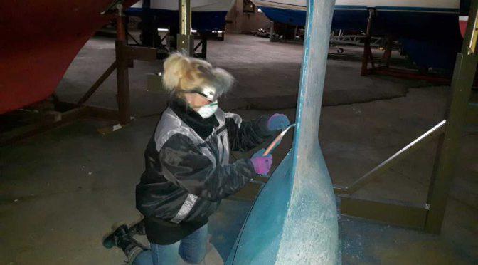 Lubmin – das Winterlager für das Boot und uns
