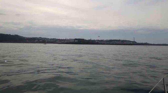 Von Cherbourg nach Guernsey