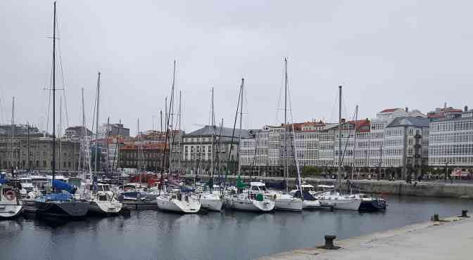 Von Camaret-sur-Mer über die Biskaya nach La Coruna