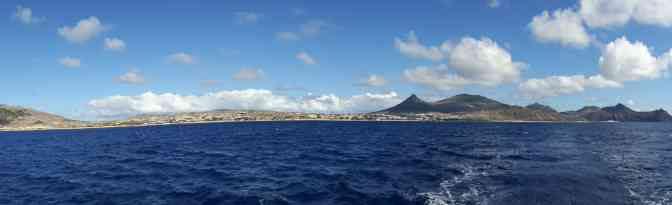 Von Sines nach Porto Santo